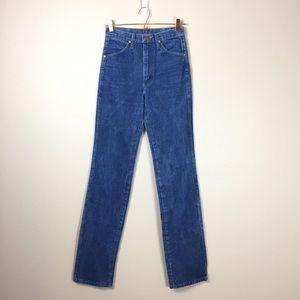 Vintage Wrangler Mom jeans wedgie medium wash